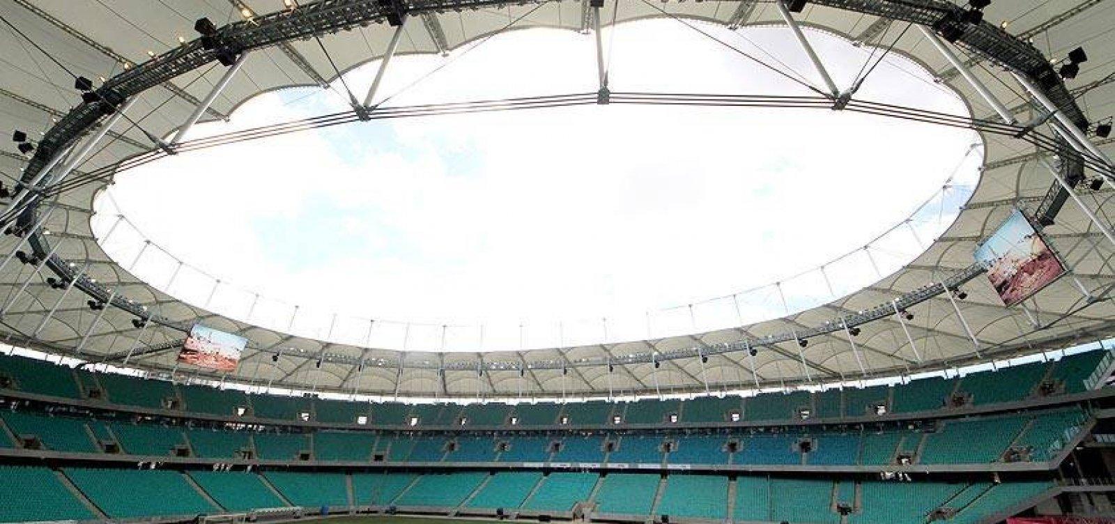 Tour na Fonte: conheça a nova Arena Fonte Nova e também passei pela história do estádio