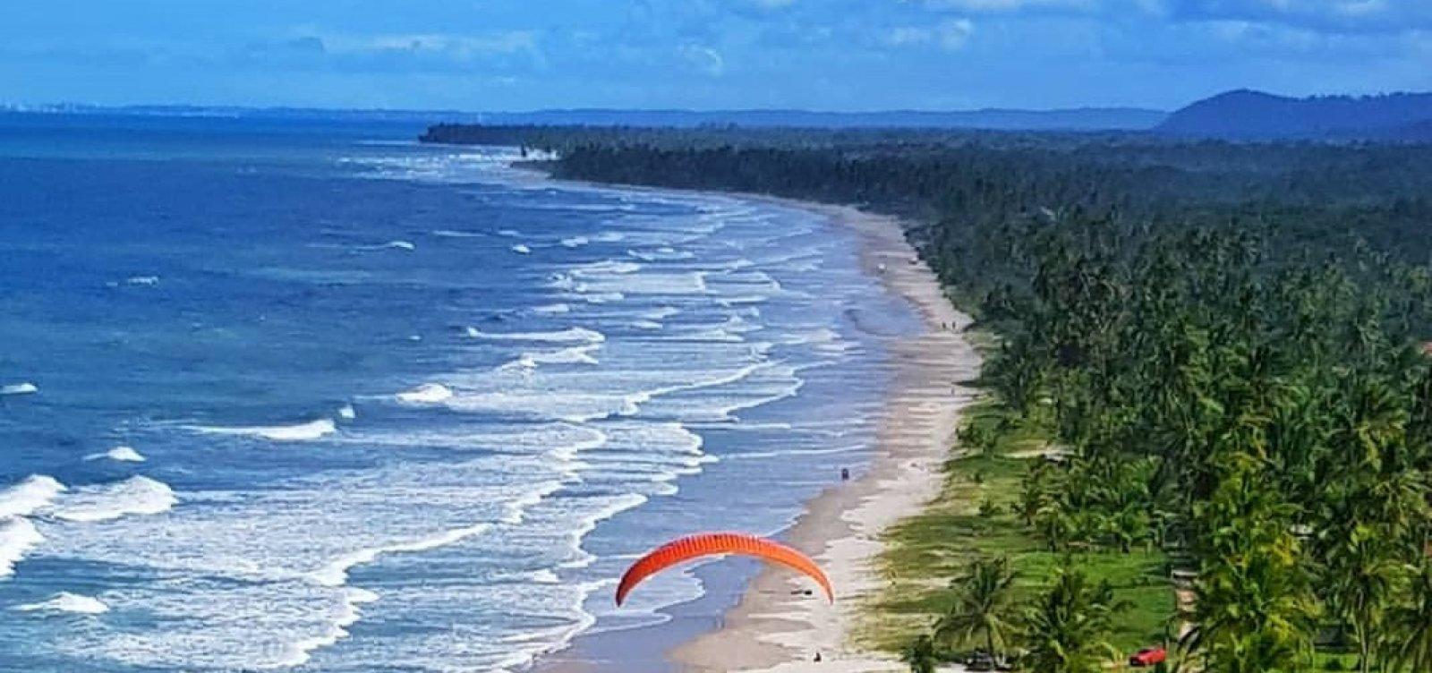 Praia de Pé de Serra: paraíso a perder de vista, entre Ilhéus e Itacaré