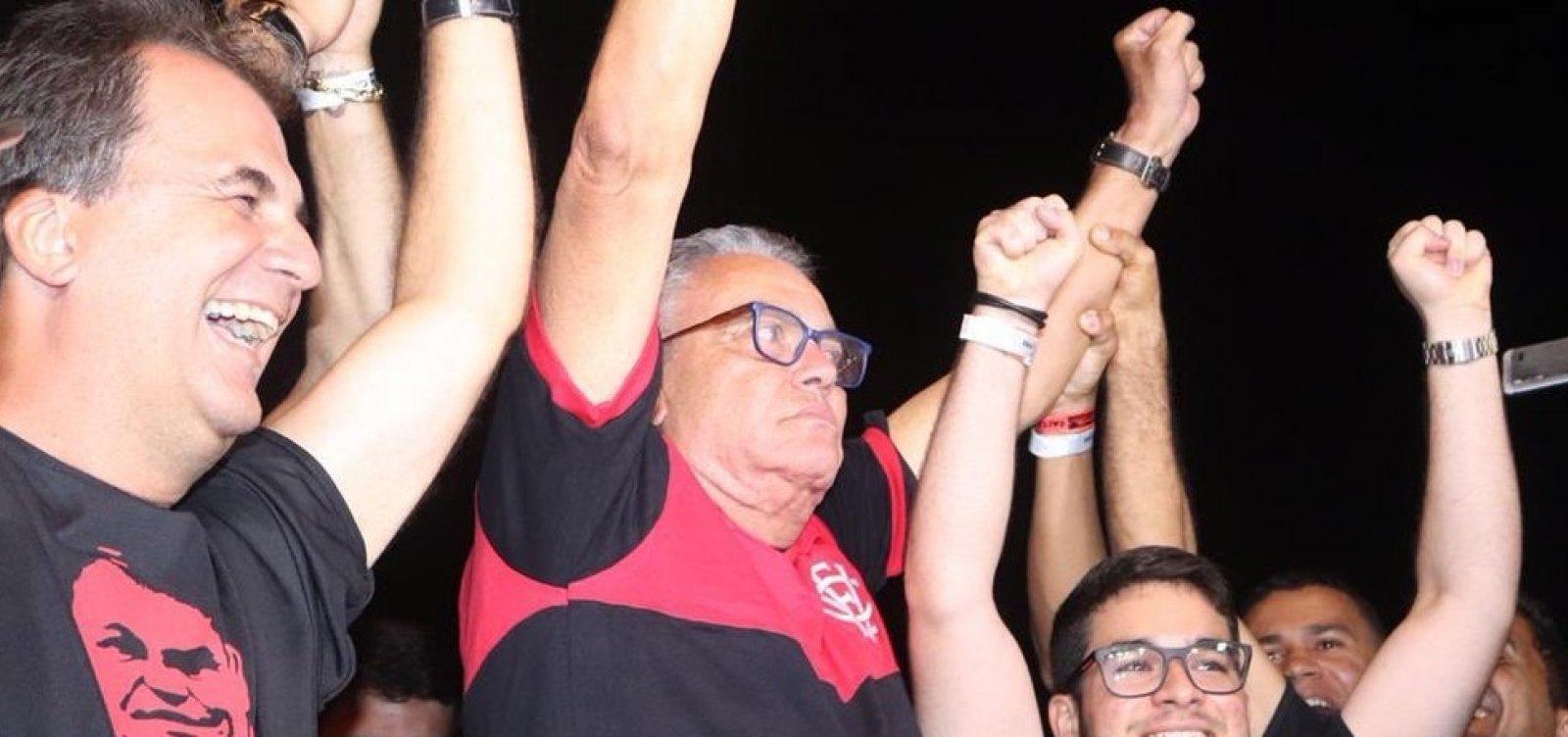 'Serei o presidente de todos os rubro-negros', diz Paulo Carneiro