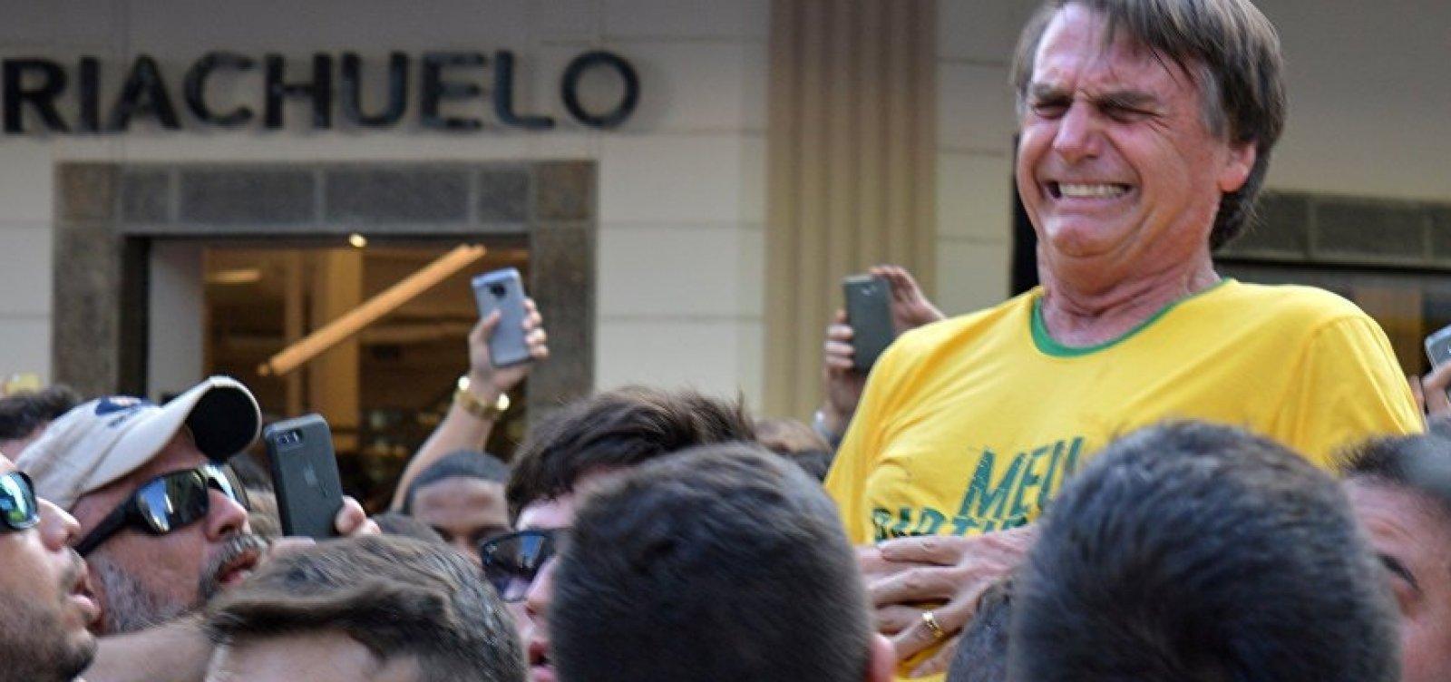 PF encaminha inquérito sobre facada em Bolsonaro para o MP de Juiz de Fora