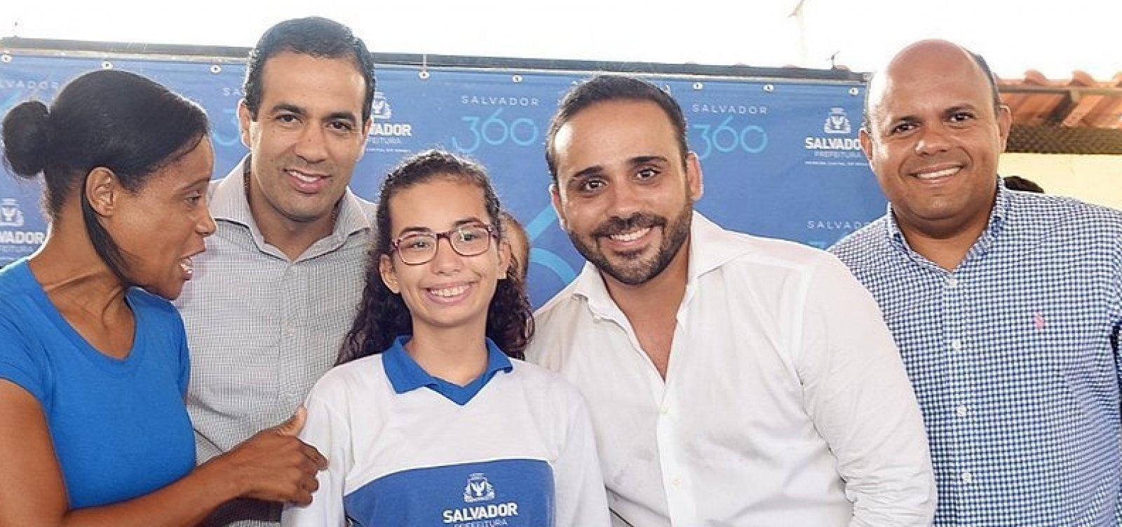 Salvador passa a ter 30 intérpretes para alunos com deficiência auditiva