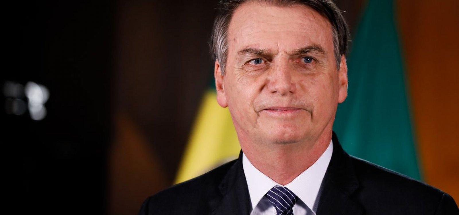'Sombra que às vezes não se guia de acordo com o sol', diz Bolsonaro sobre papel de vice-presidente
