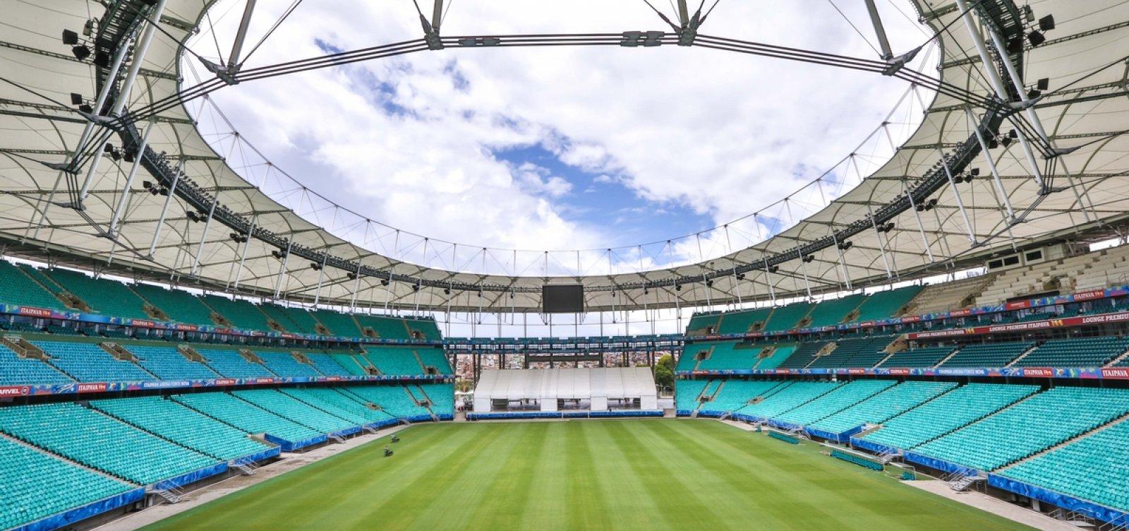 Fonte Nova terá câmera de reconhecimento facial na Copa América