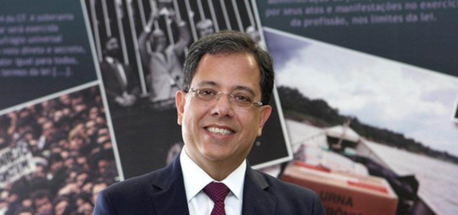 Sérgio Banhos é escolhido ministro do TSE