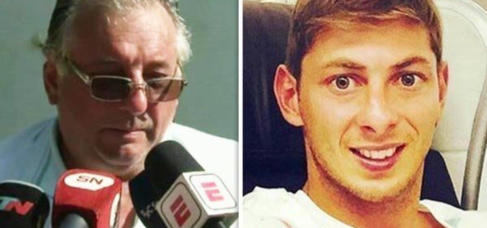 Pai do jogador Emiliano Sala morre 3 meses após morte do filho em acidente