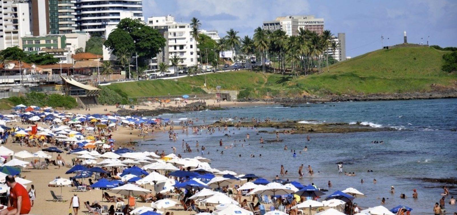Bahia tem 34 praias impróprias para banho; 17 estão em Salvador