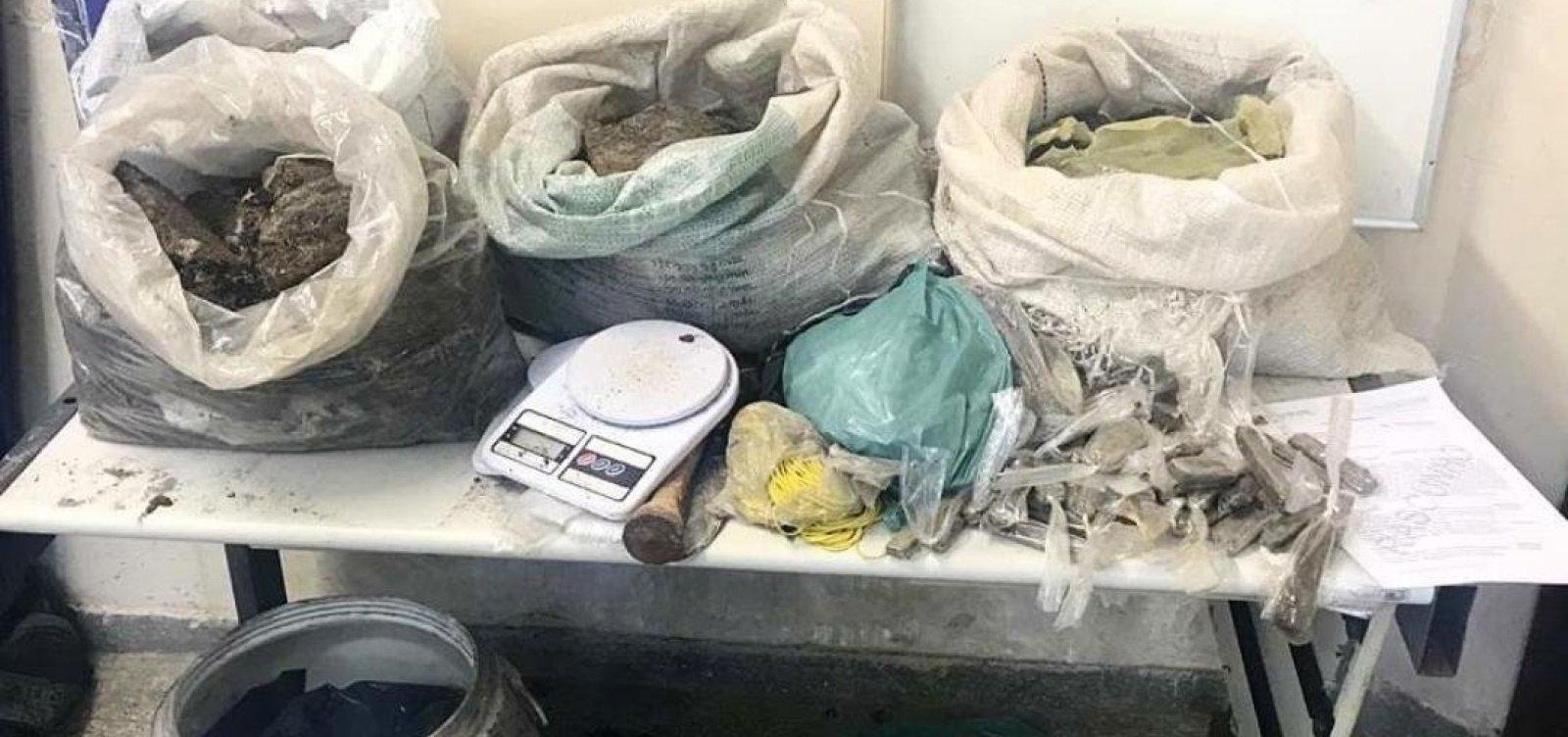 60 kg de maconha são achados enterrados em Abrantes