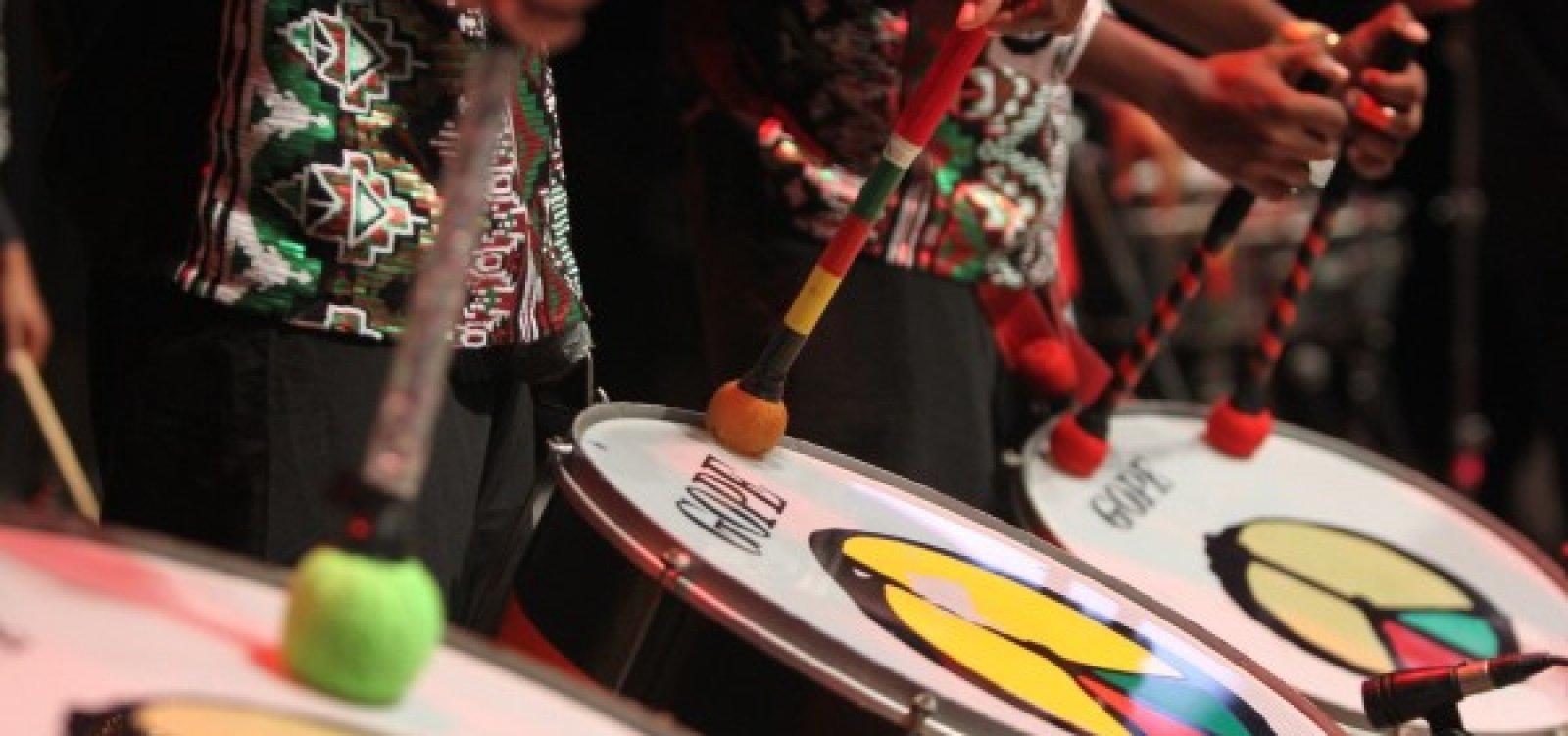 Olodum comemora 40 anos de história com show no Pelourinho