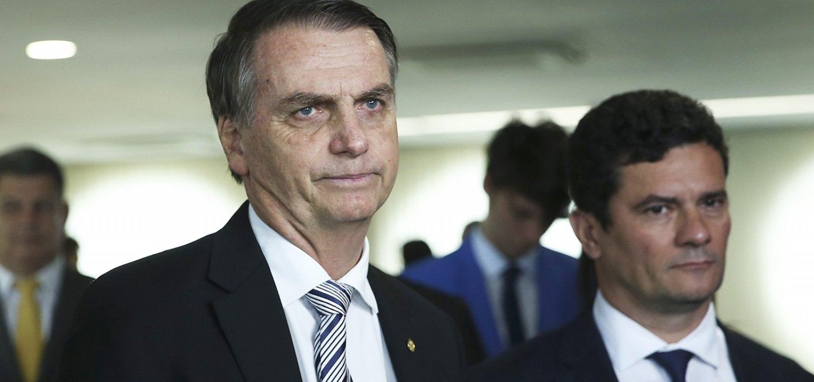 Moro e Bolsonaro podem entrar em rota de colisão por Coaf