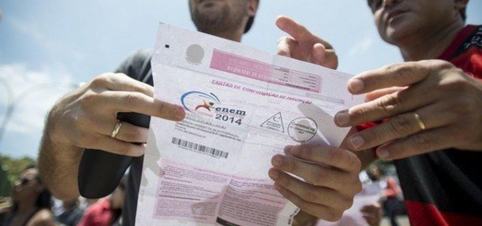 Governo convoca gráfica alvo de denúnciapara impressão do Enem