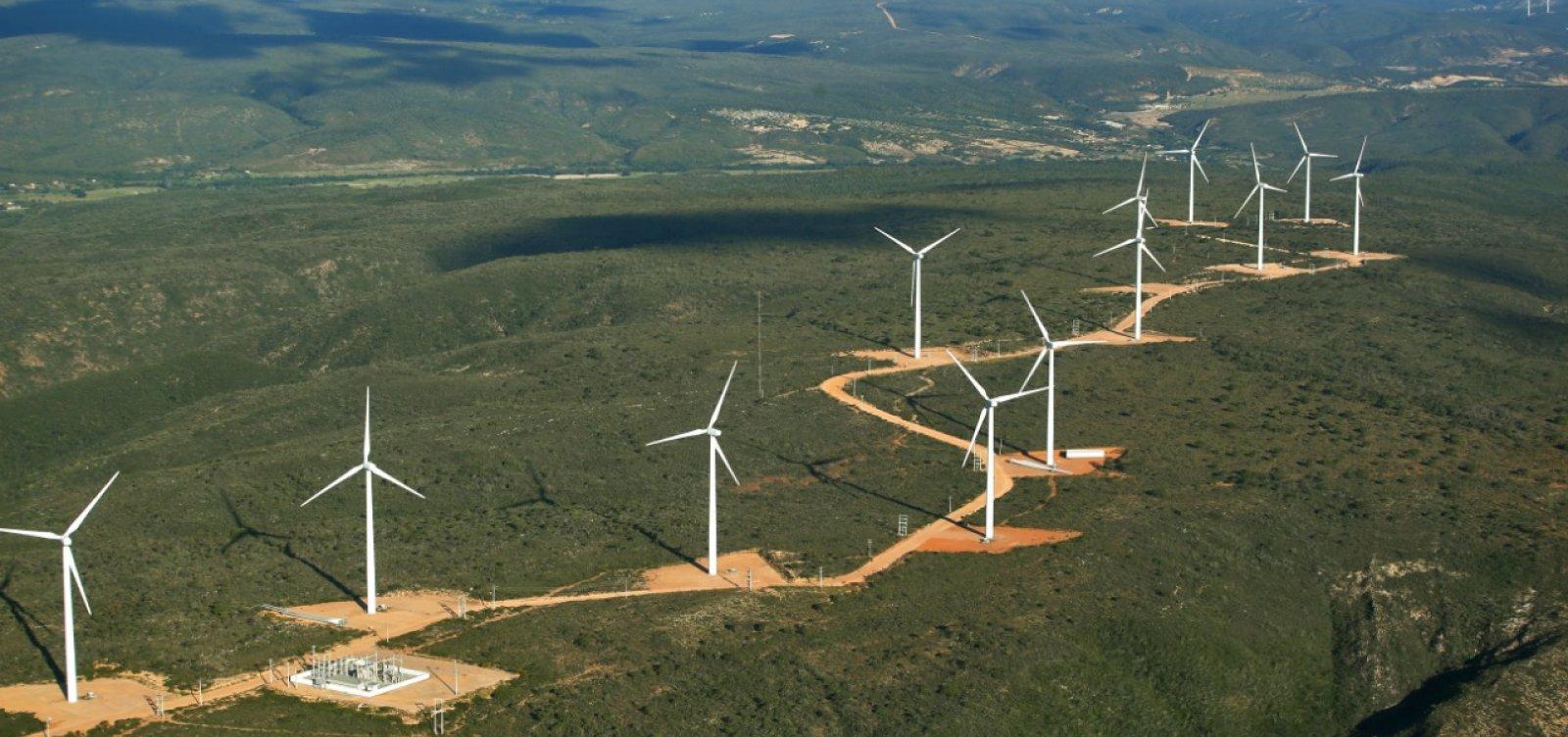 Bahia supera Rio Grande do Norte em número de parques eólicos