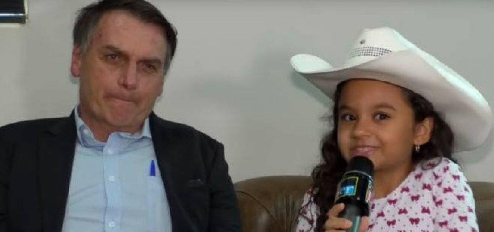Em entrevista a criança, Bolsonaro defende troca de patrono da educação e chama Paulo Freire de 'chato'