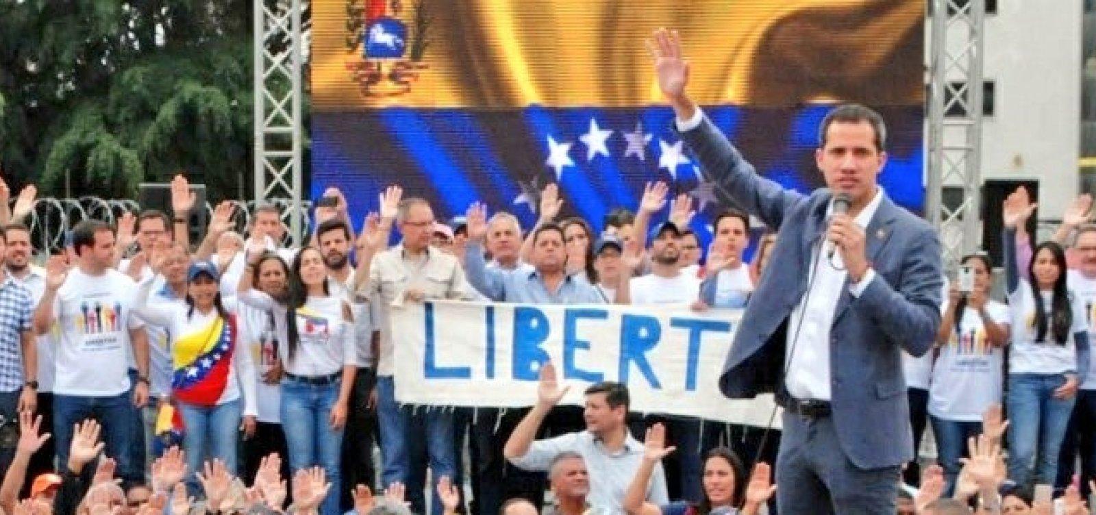 Guaidó convoca população às ruas por 'fim à usurpação' na Venezuela