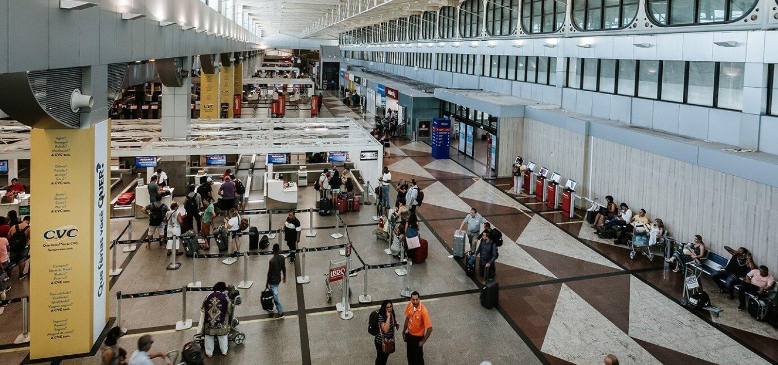 Aeroporto de Salvador suspende interrupção no sistema de ar-condicionado