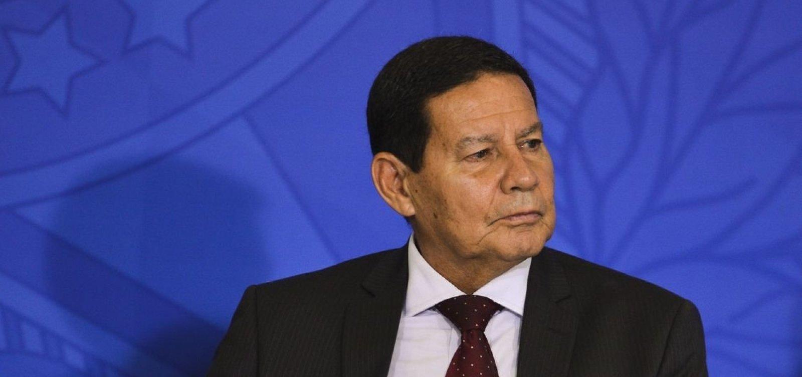 Mourão descarta possibilidade de intervenção militar do Brasil na Venezuela