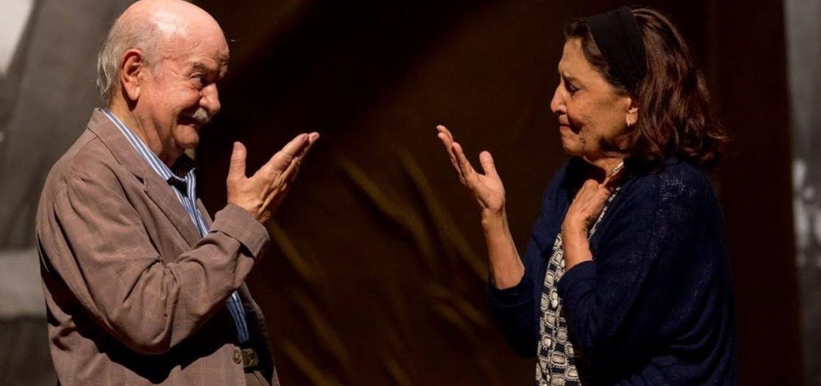 Peça 'Em Família', que celebra 80 anos do ator Harildo Deda, terá apresentação no TCA