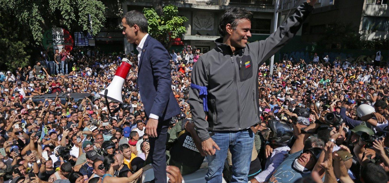Sites de vídeo são derrubados durante discurso de Guaidó
