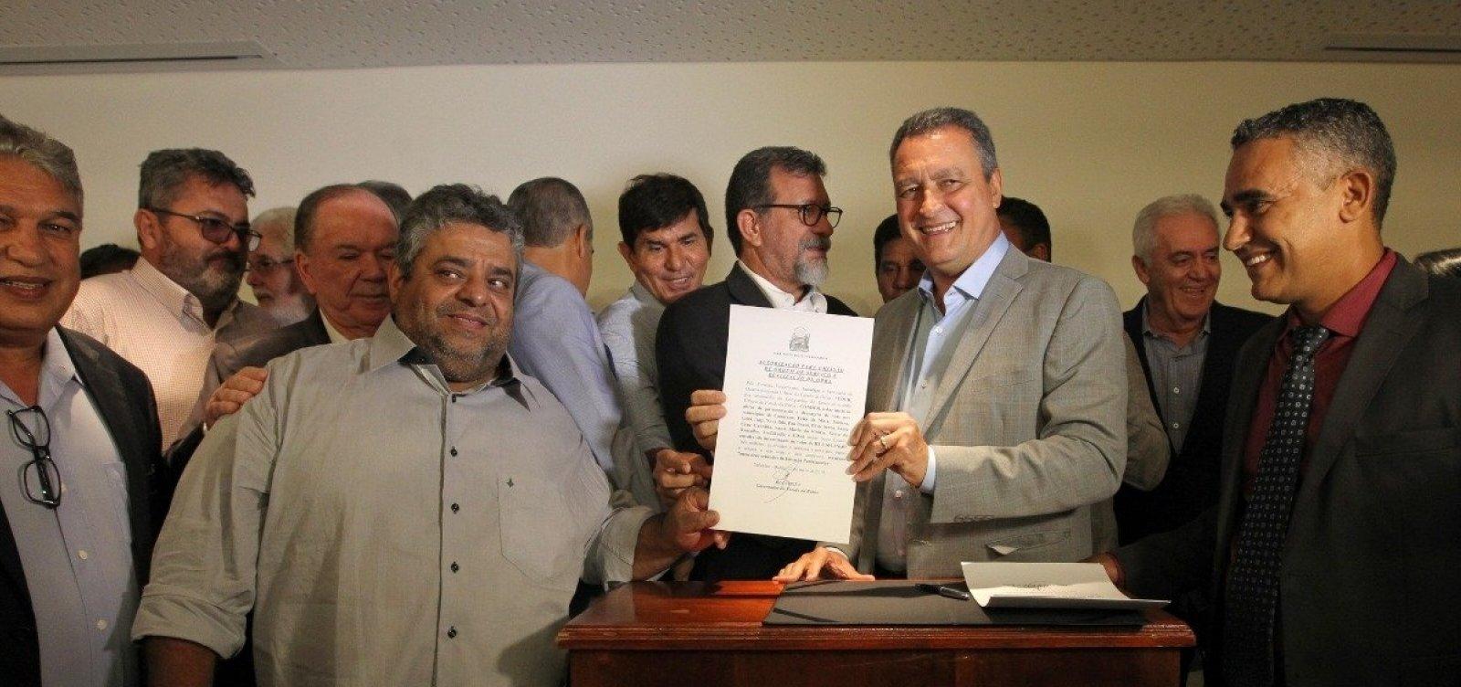 Obras em vias são autorizadas em 20 municípios baianos