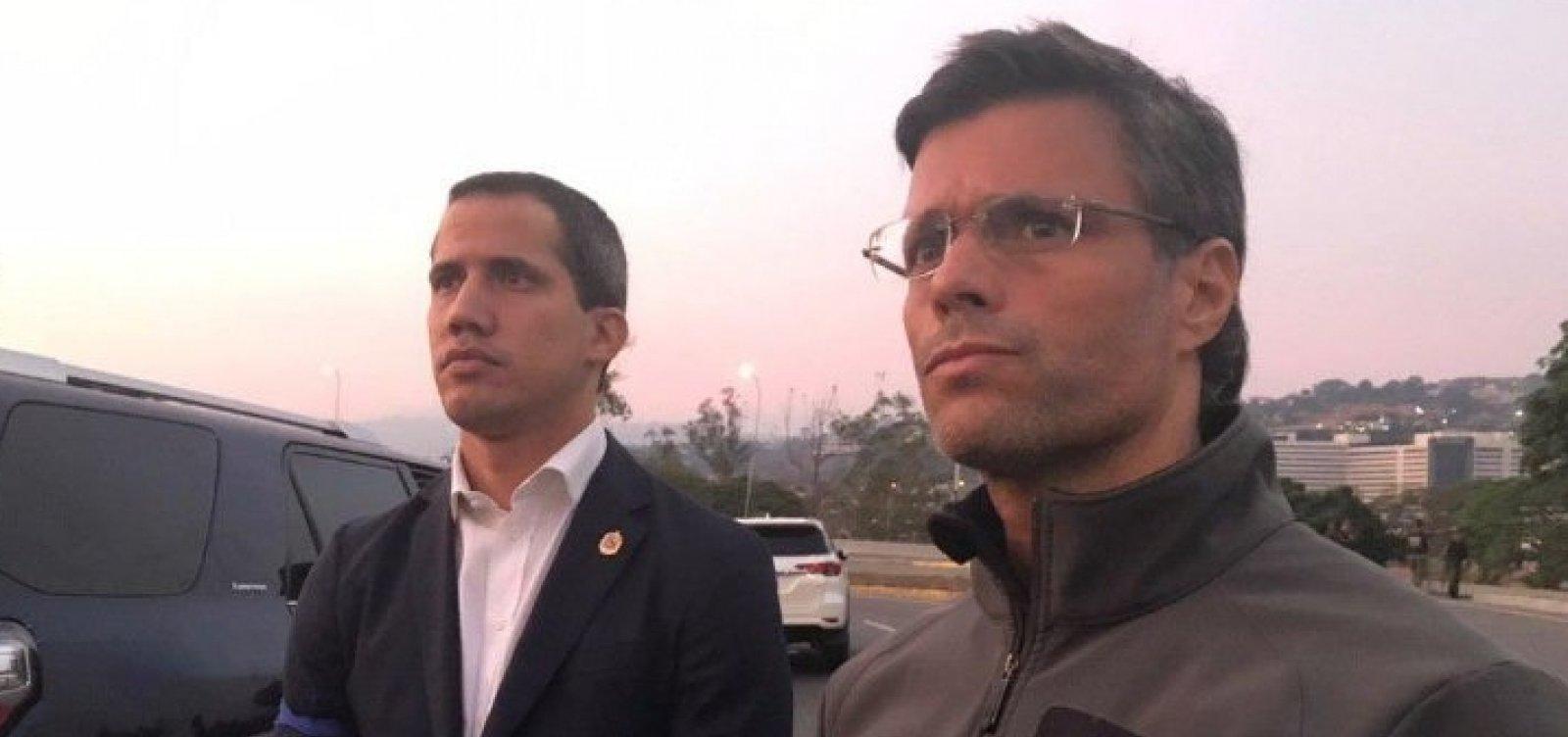 Justiça venezuelana emite mandado de prisão contra Leopoldo López