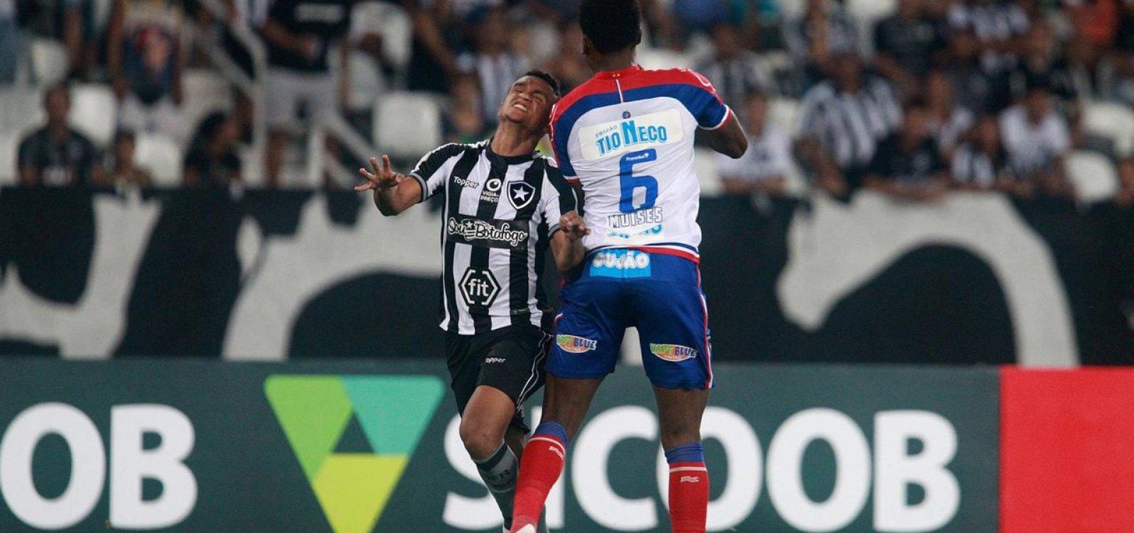 De virada, Bahia perde fora de casa para o Botafogo