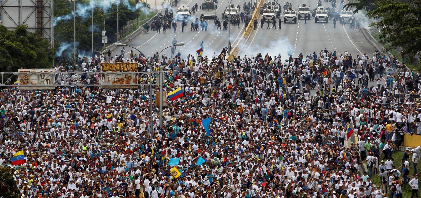 Sobe para cinco número de mortos em protestos na Venezuela, diz ONU