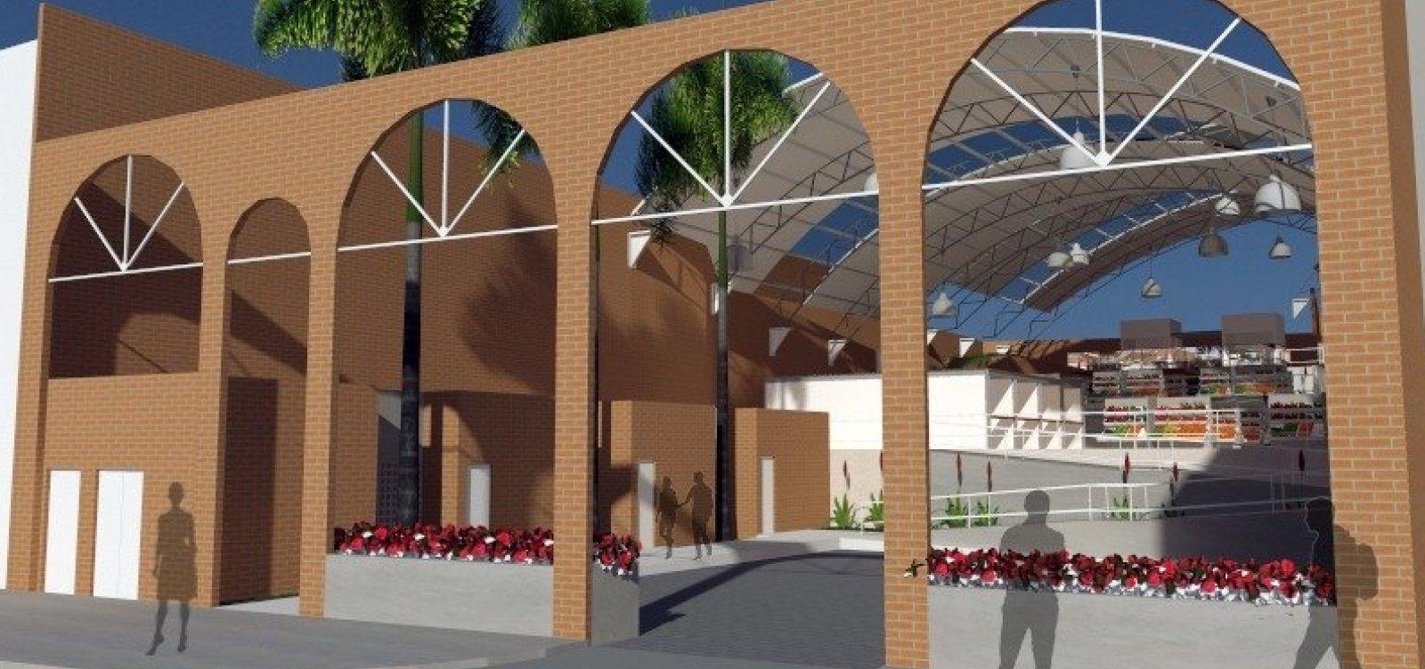 Mercado Municipal de São Cristóvão tem prazo de cinco meses para ser inaugurado