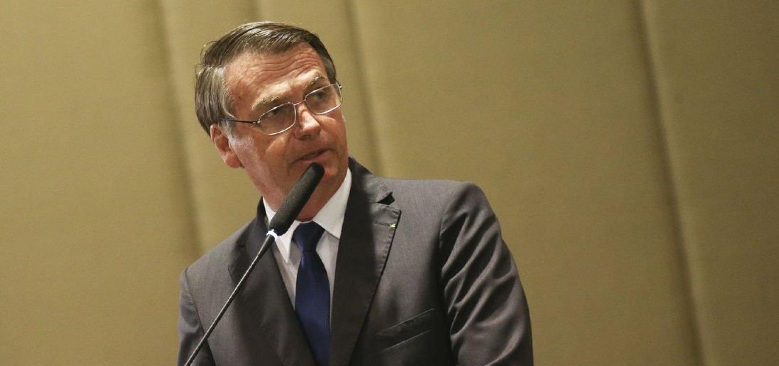 Bolsonaro garante continuidade do concurso do Itamaraty