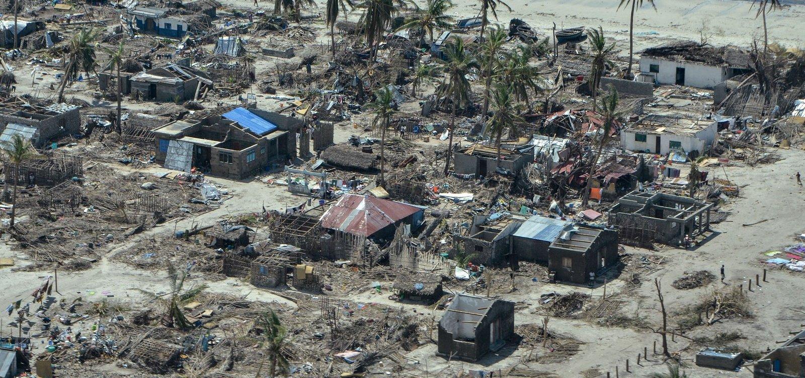 Moçambique recebeu menos de 10% da ajuda necessária após ciclones