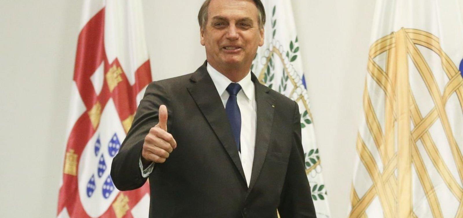 Bolsonaro cancela viagem para Nova York
