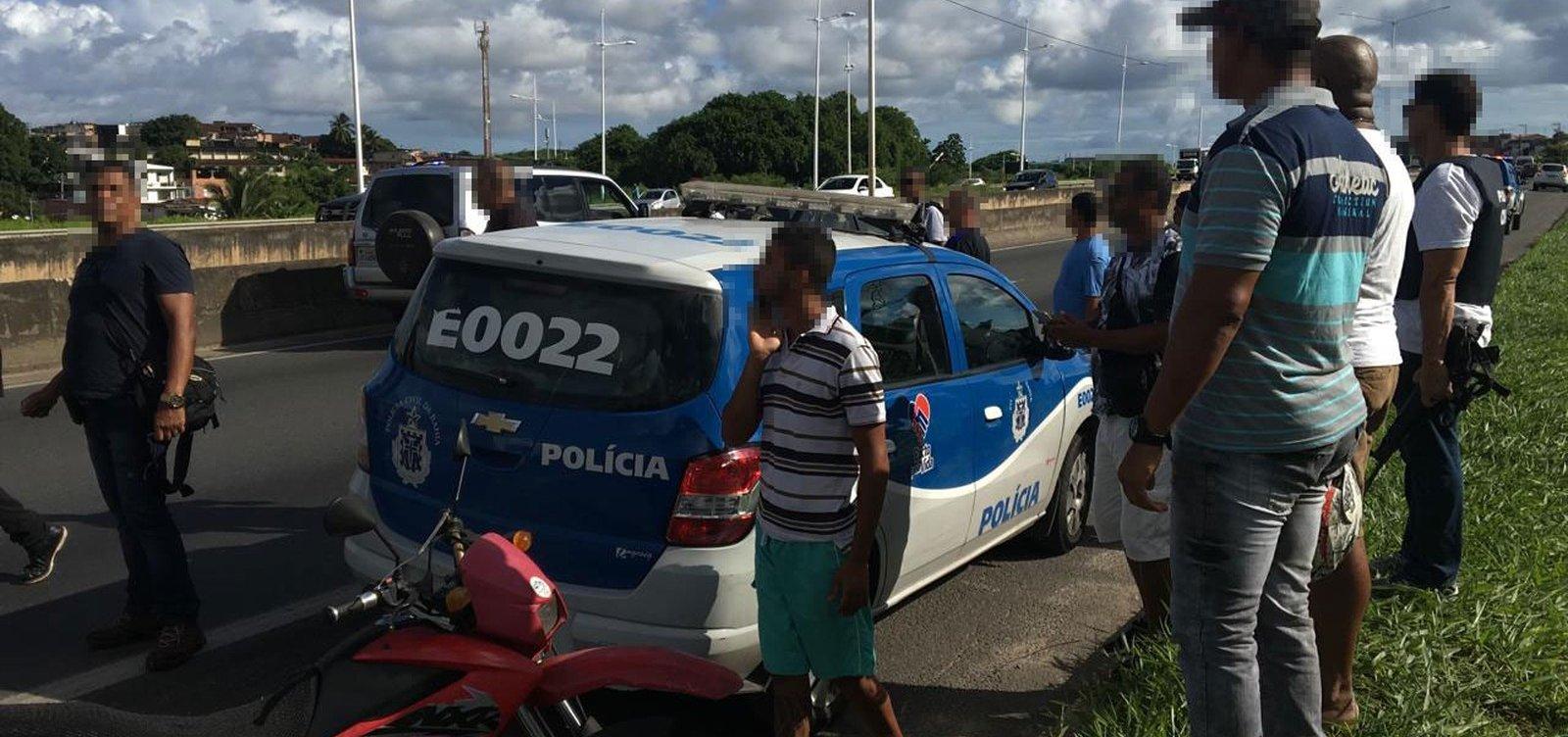 Policial civil é morto em tentativa de assalto na BR-324