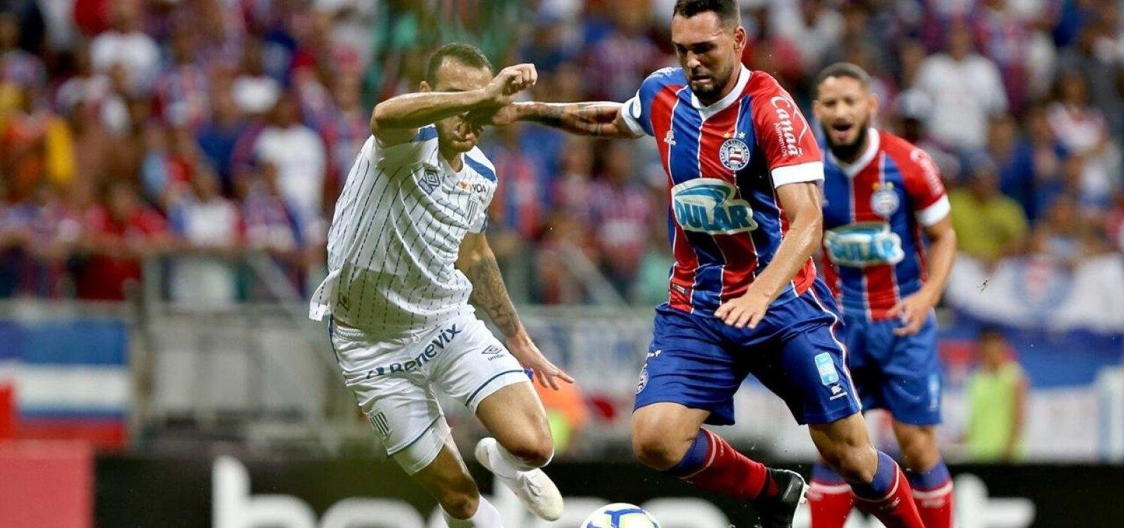 Bahia vence Avaí por 1 a 0 na Arena Fonte Nova