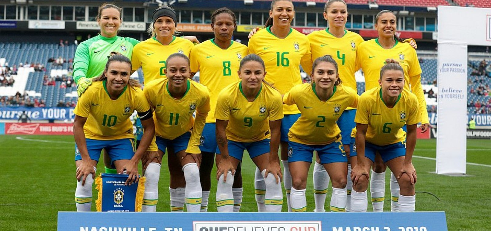 Fifa cria novos prêmios femininos para promover igualdade de gênero
