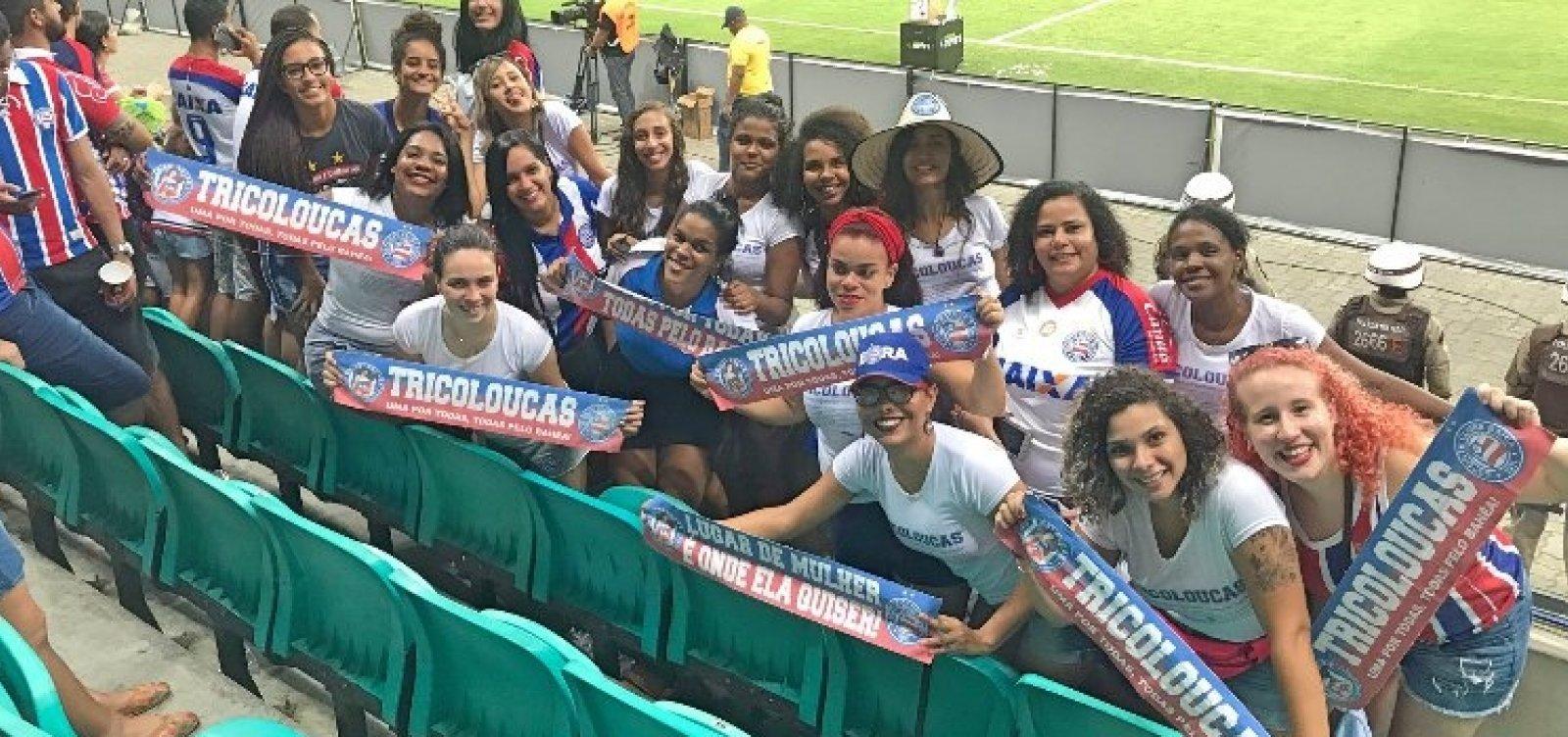 Bahia promete agir após denúncia de assédio contra torcedora