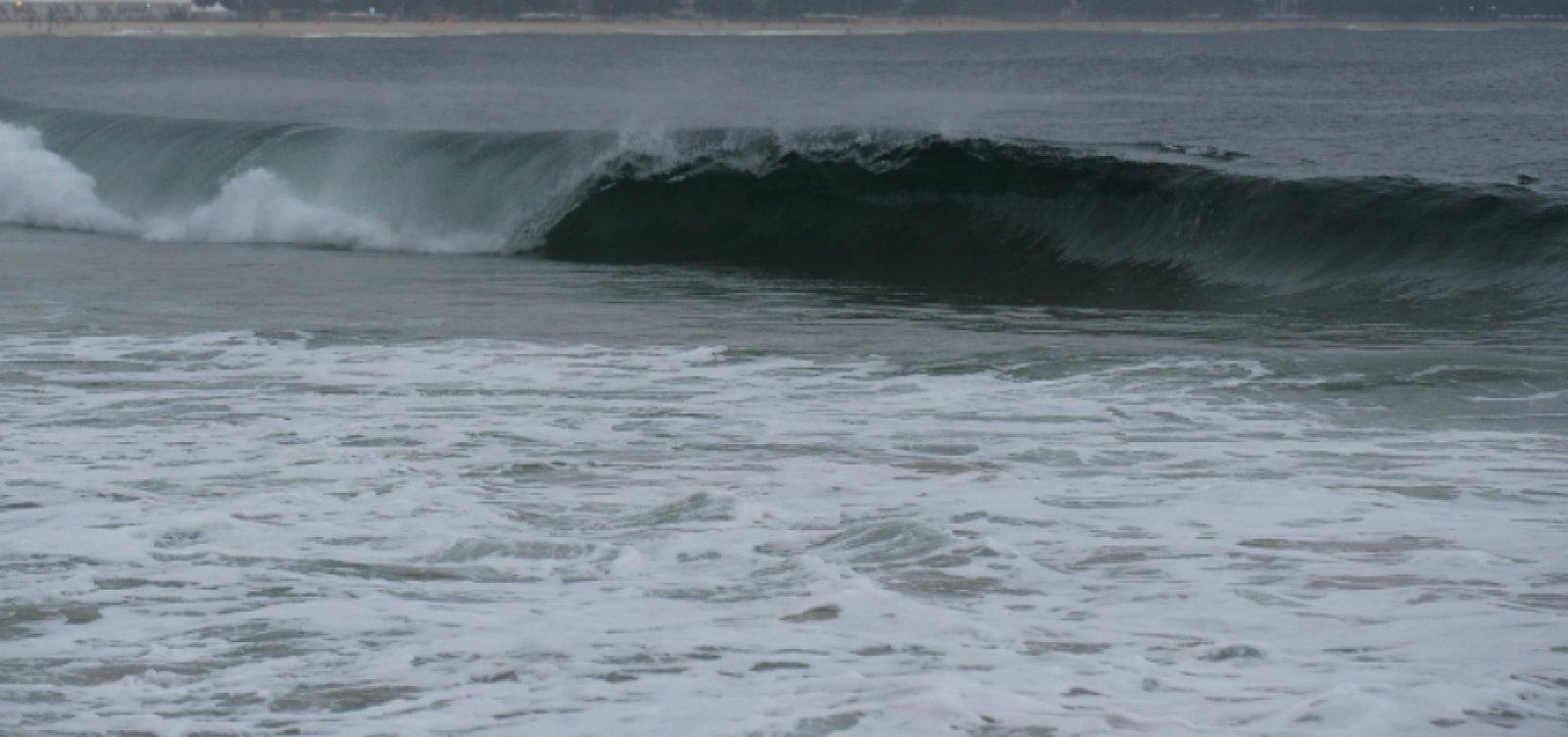 Marinha alerta para ventos de até 61 km/h no litoral sul do estado