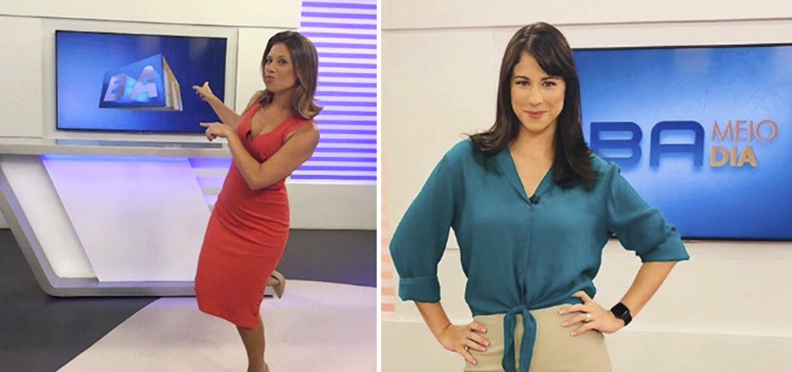 Lados da mesma moeda: Senra comemora 1 ano de TV Bahia; Camila Marinho lembra despedida