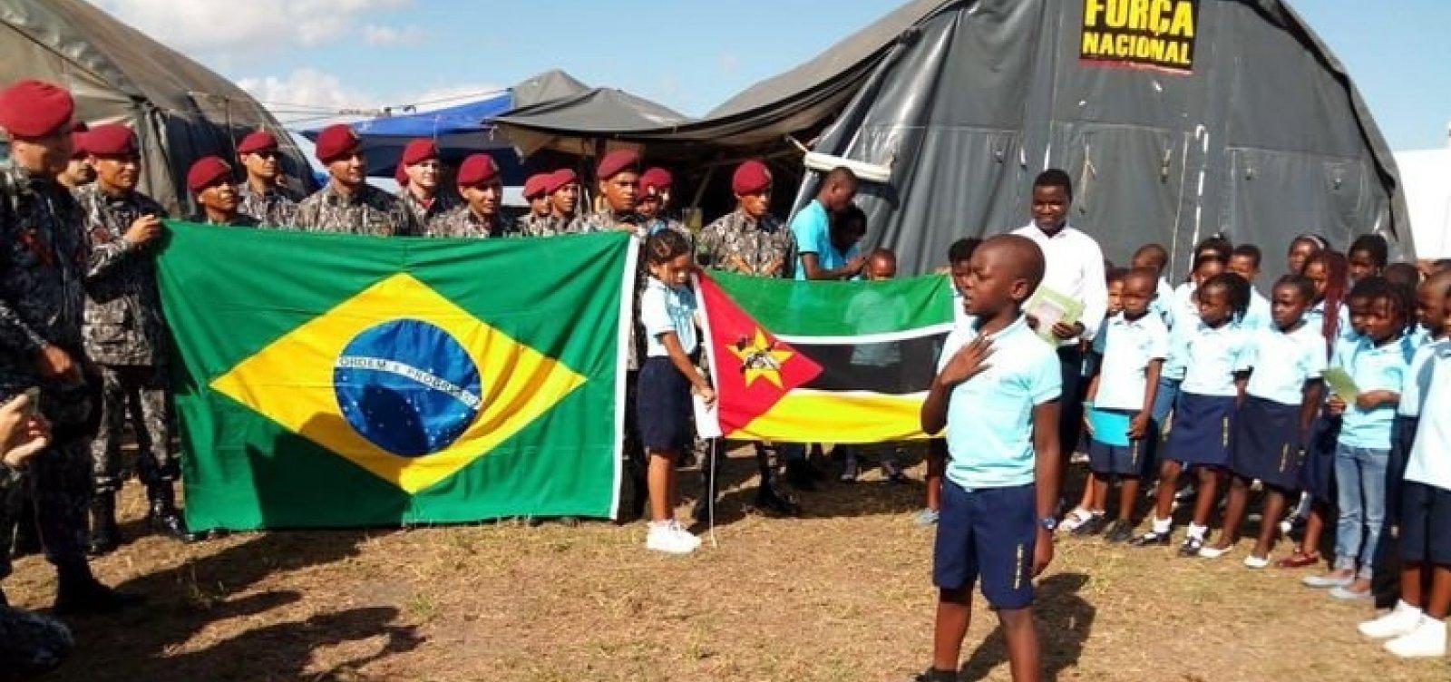 Força Nacional permanece em Moçambique até junho
