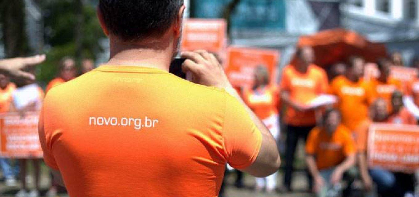 Partido Novo abre processo seletivo para candidato a prefeito em Salvador