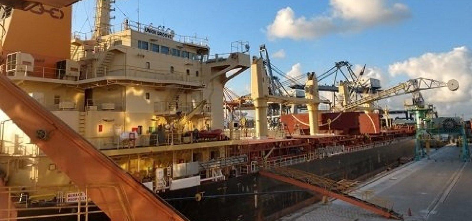 Salvador envia peças de energia eólica para os EUA pela 1ª vez