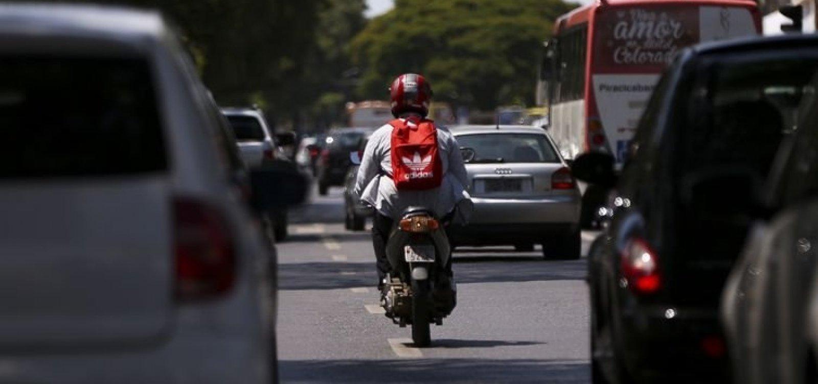 Índice de mortes em acidentes com moto sobe quase 36% em Salvador
