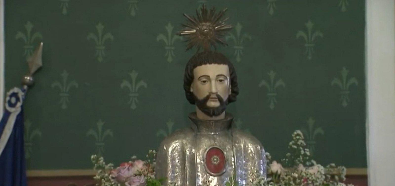 Padroeiro de Salvador é celebrado amanhã