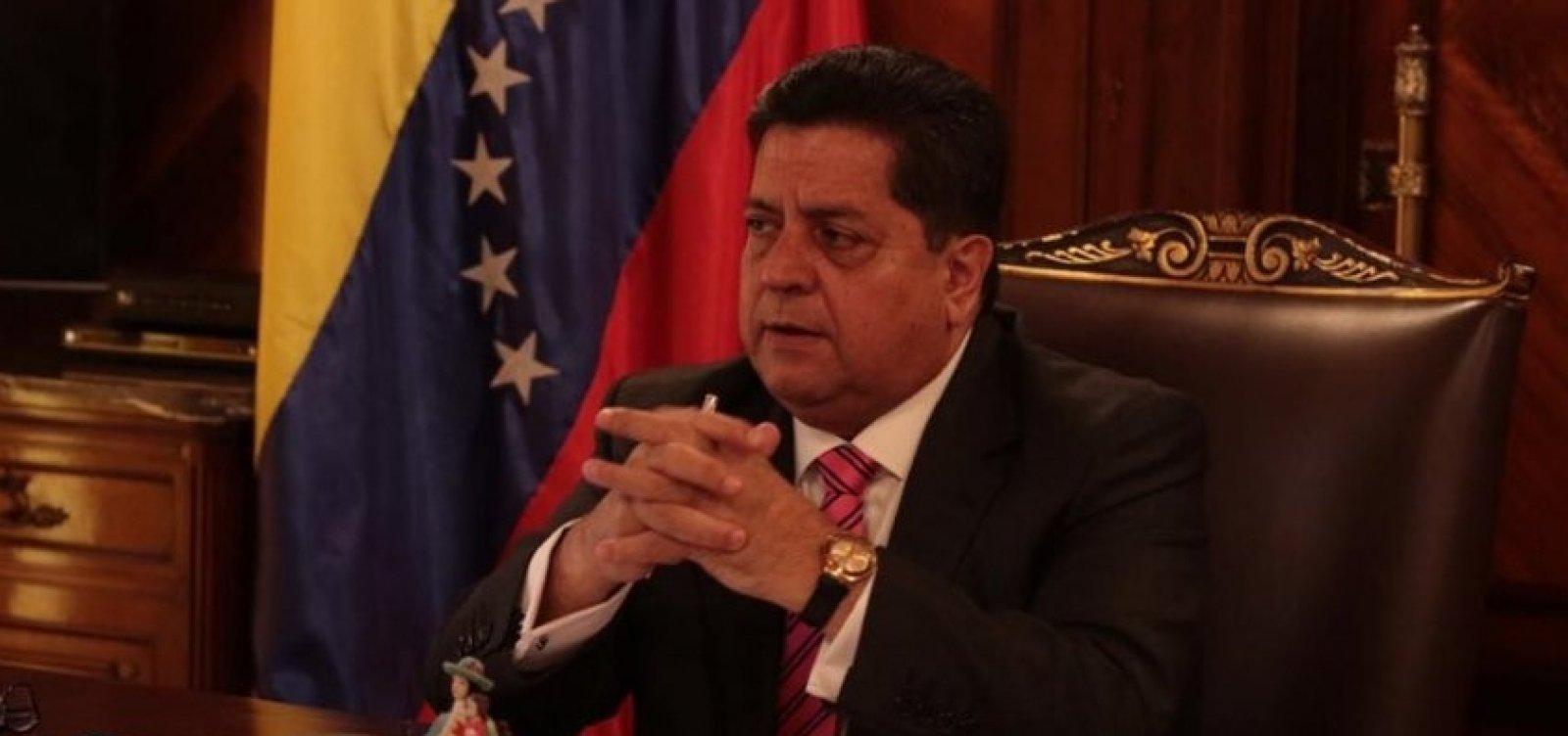 Vice-presidente do parlamento da Venezuela é preso