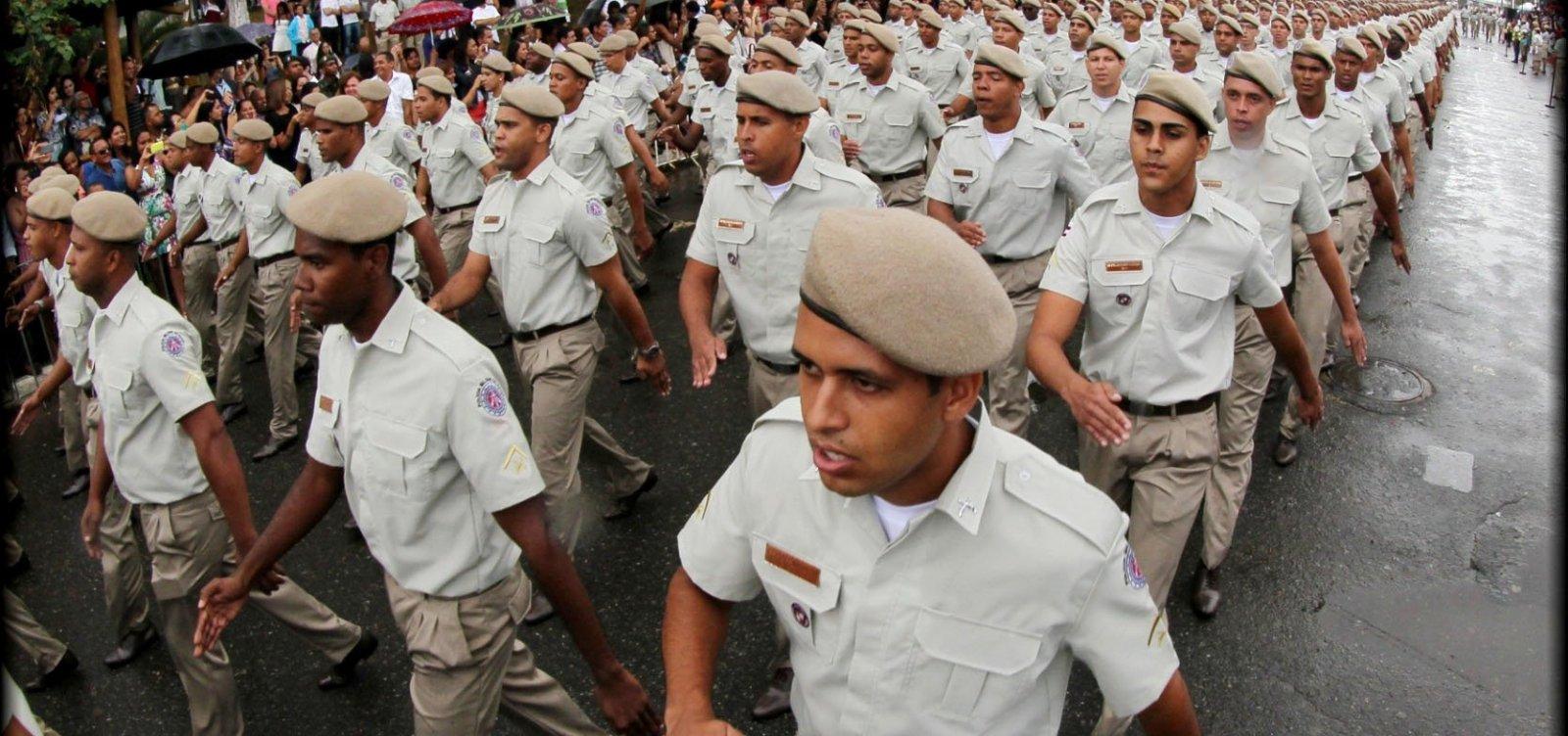 Governo anuncia R$ 33,9 mi em gratificações a policiais do Estado