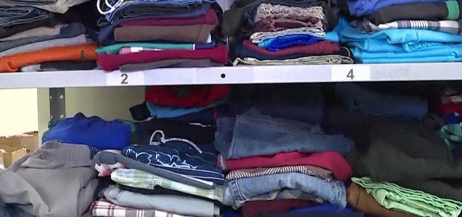 PM arrecada agasalhos e alimentos para moradores de rua; veja como doar