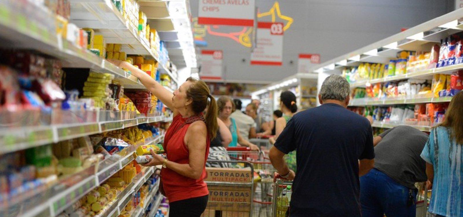 Inflação de abril fica em 0,57%, maior taxa desde 2016
