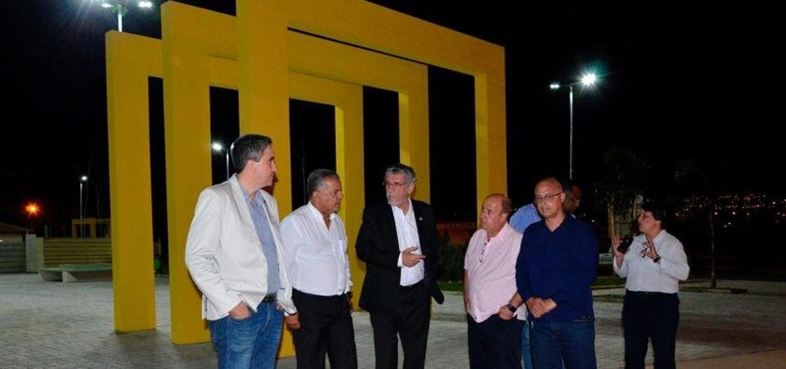 Vitória da Conquista: obras da Praça Norberto Aurich estão em reta final