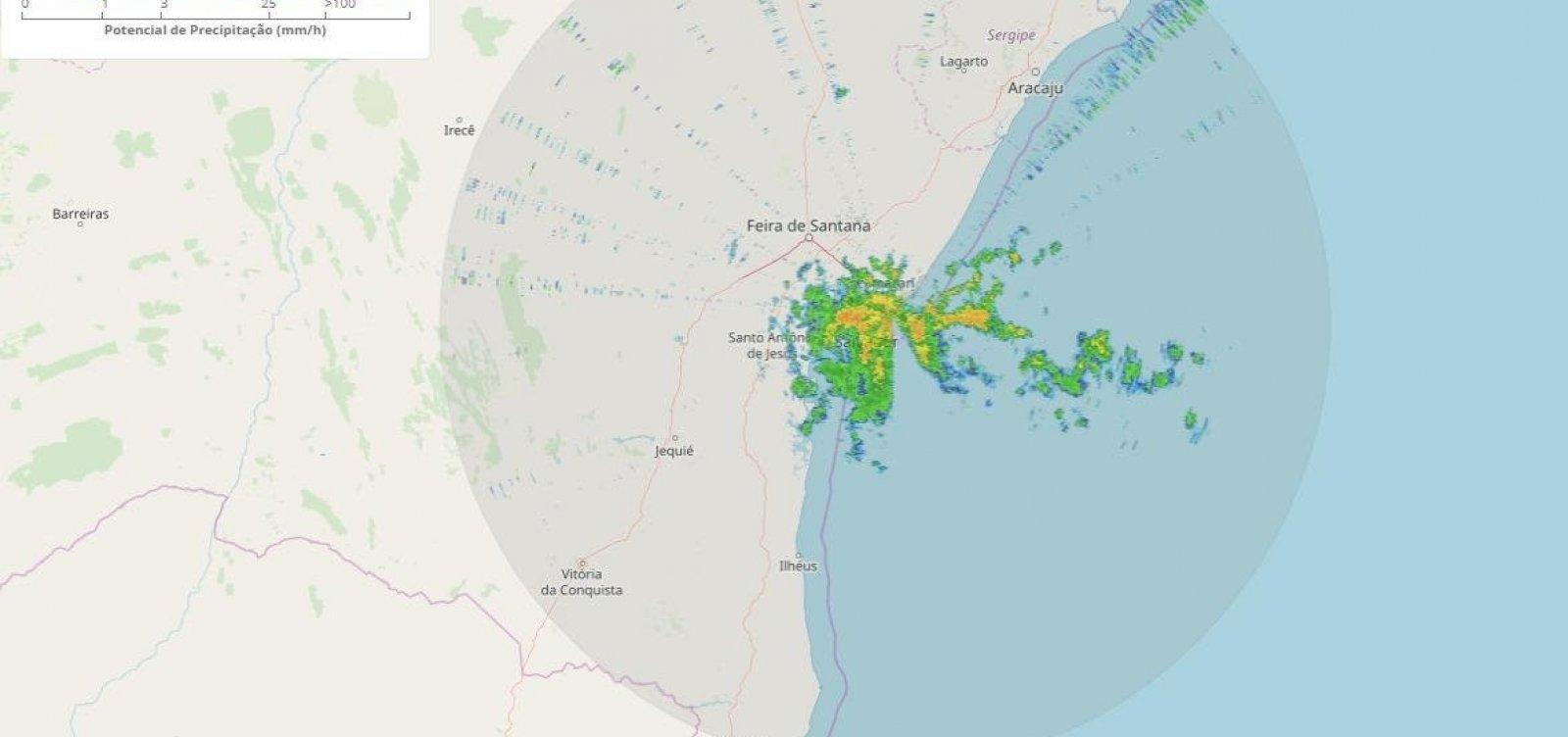 Defesa Civil emite alerta de deslizamentos após chuvas em Salvador