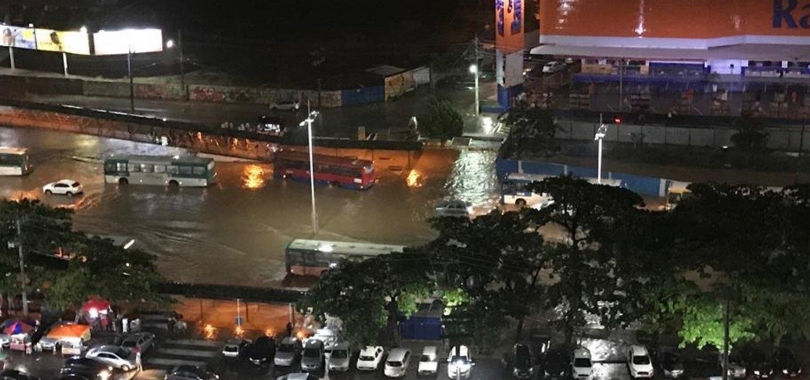 Codesal registra dez deslizamentos de terra após chuvas em Salvador