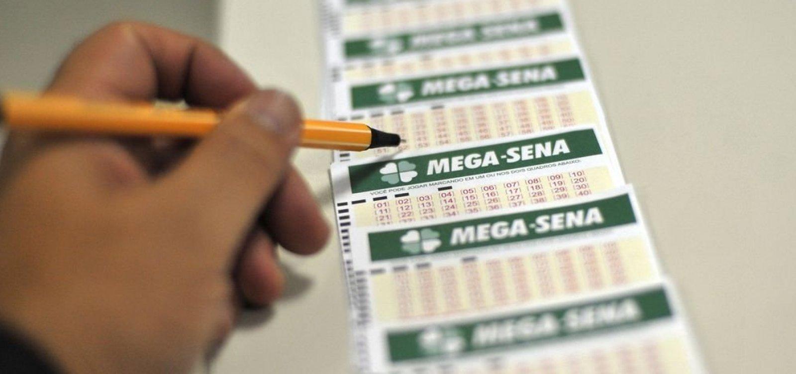 Sorteio da Mega Sena pode pagar prêmio histórico de R$ 275 milhões