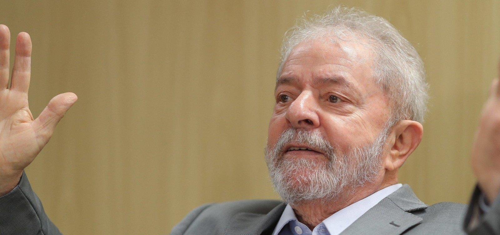 Defesa pede que STJ conceda prisão domiciliar a Lula