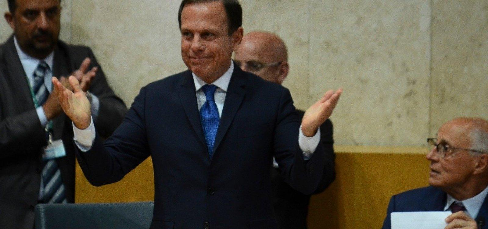 Doria gastou 122% a mais com propaganda no primeiro trimestre de 2018, revela TCM